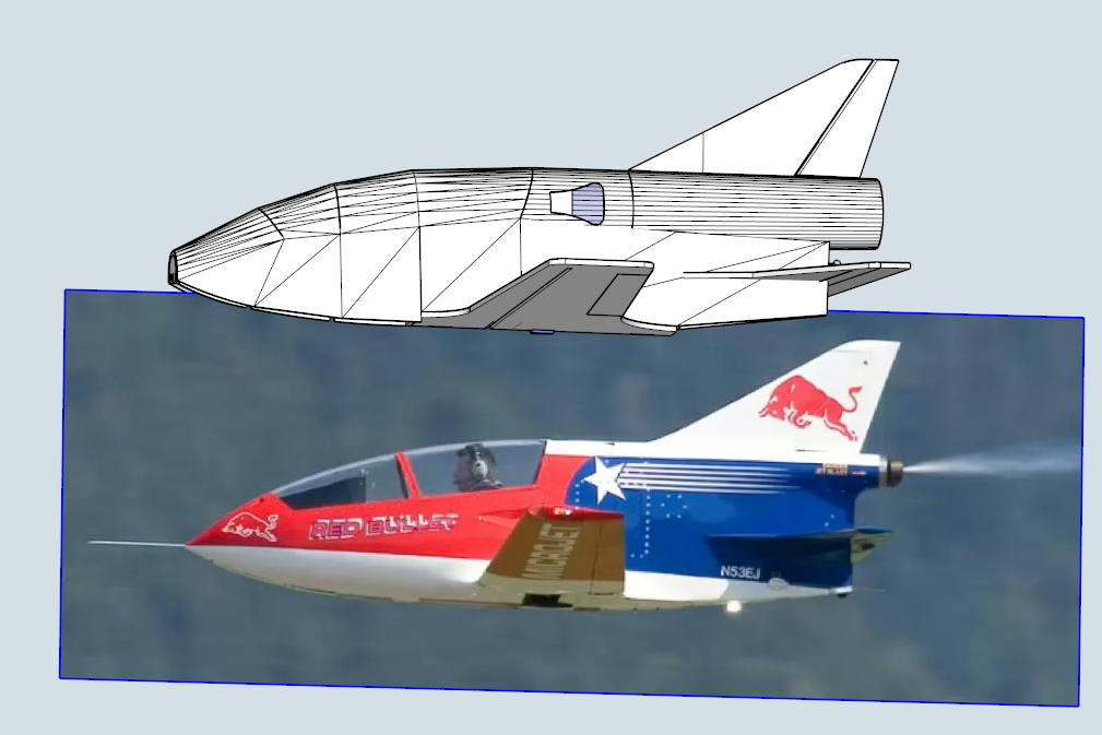 The Dualis - A NEW SWING WING plane Designed by